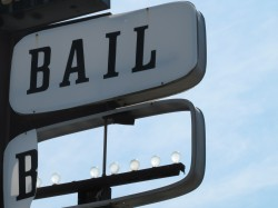 Broken Bail Bond Sign Texas