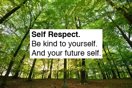 What are the ingredient of self-respect?